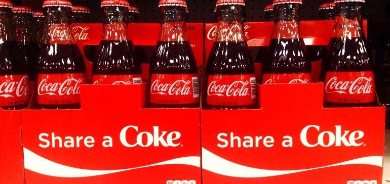Coca-Cola online marketing campaign